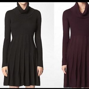 Calvin Klein Sweater Dress with Elbow Patches